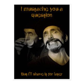 Mustache Bros Postcard
