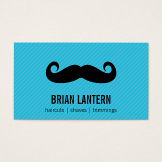Mustache Business Card