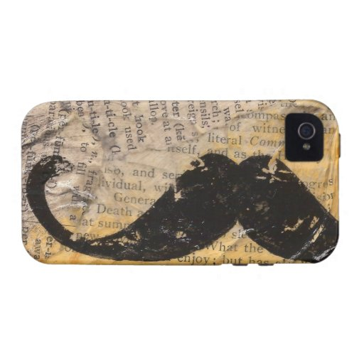Mustache CaseMate iPhone4 Case Vibe iPhone 4 Cases