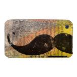 """Mustache CaseMate """"Triumph"""" Case-Mate iPhone 3 Case"""