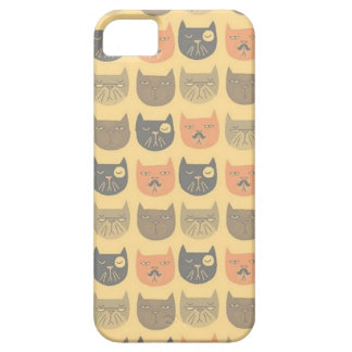 Mustache Cat Iphone5 phone case iPhone 5 Cover