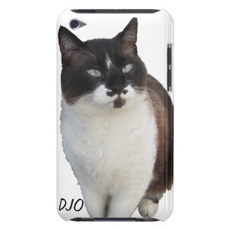 Mustache Cat protects your phone. iPod Case-Mate Case