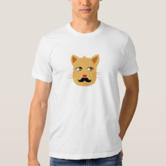 Mustache Cat Tshirt