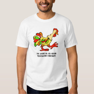 MUSTACHE CHICKEN 2 T-Shirt