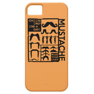 Mustache choose only one a day iPhone 5/5S cover
