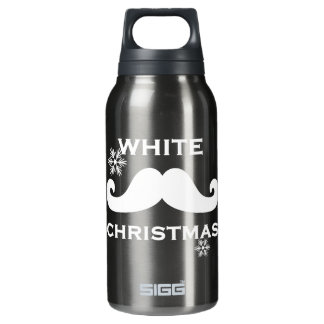 Mustache Christmas Thermos Bottle