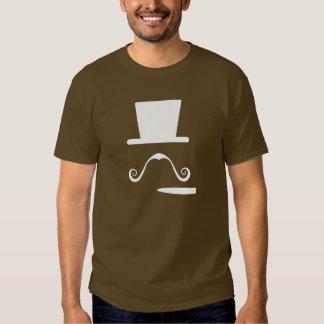 Mustache & Cigar Pictogram T-Shirt