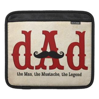 Mustache Dad iPad Sleeve
