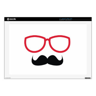 Mustache Decals For Laptops