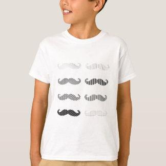 Mustache Design/dot&stripe T-Shirt