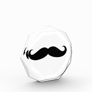 Mustache Disguise Funny Acrylic Award