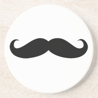 Mustache Disguise Funny Beverage Coaster