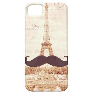 Mustache Eiffel Tower iPhone 5 Cases