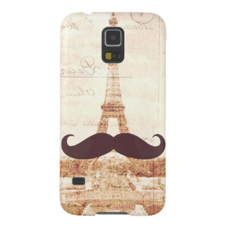 Mustache Eiffel Tower Galaxy S5 Case