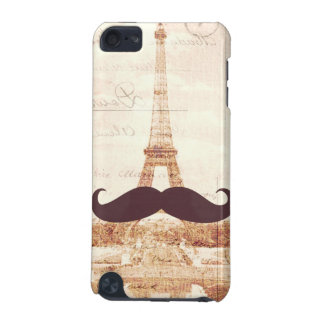 Mustache Eiffel Tower iPod Touch (5th Generation) Cover