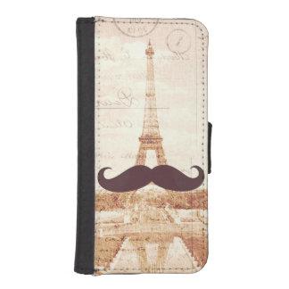 Mustache Eiffel Tower Phone Wallets