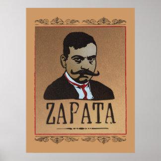 Mustache - Emiliano Zapata Print