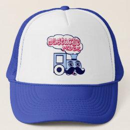 Mustache Express Trucker Hat
