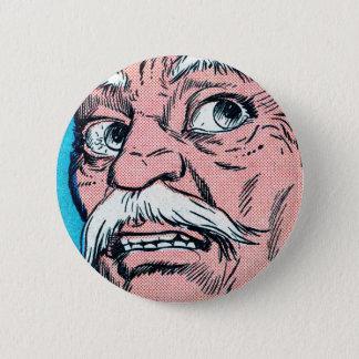 Mustache Face Button