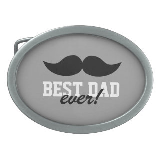 Mustache Father's Day Belt Buckle