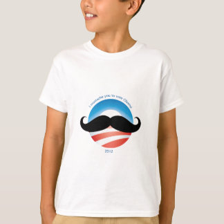 Mustache for Obama - 2012 T-Shirt