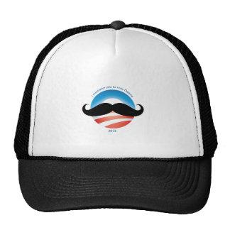 Mustache for Obama - 2012 Trucker Hat