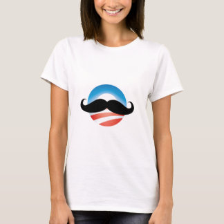Mustache for Obama T-Shirt