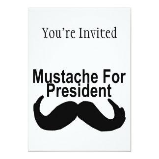 Mustache For President Card