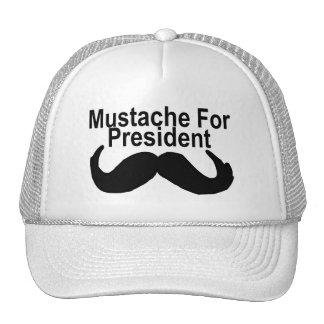 Mustache For President Trucker Hat