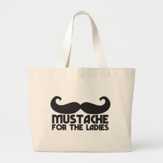 Mustache for the ladies bag