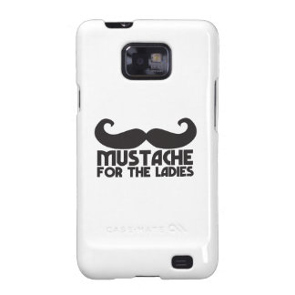 Mustache for the Ladies Moustache NP design Galaxy SII Cases