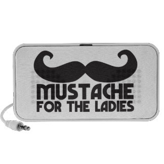 Mustache for the Ladies Moustache NP design PC Speakers