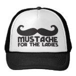 Mustache for the ladies trucker hat