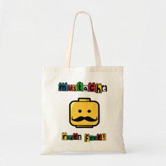 Mustache Free Rides Bags