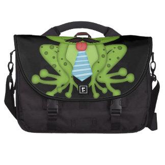 Mustache Frog Commuter Bags