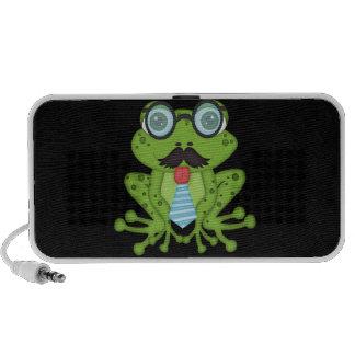 Mustache Frog Mp3 Speaker