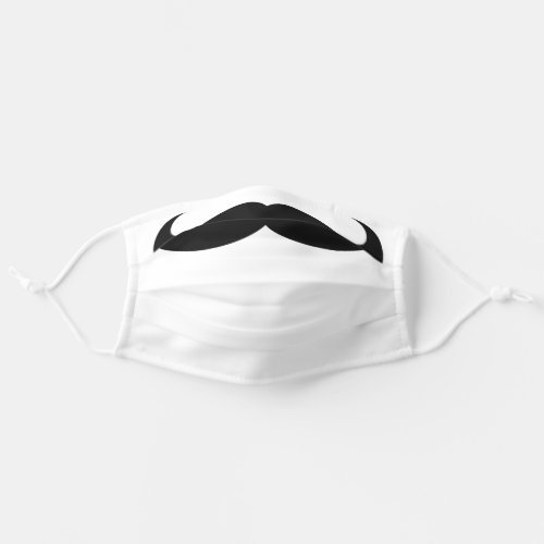 Mustache Funny Clever Joke Cute Silly Humorous Cloth Face Mask