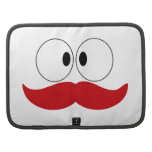 Mustache Funny Face With Eyes Organizer