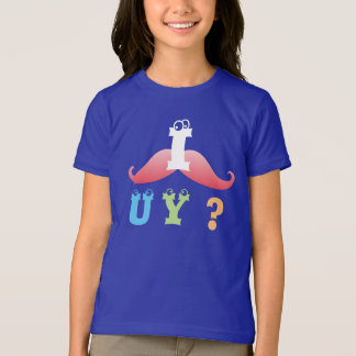 mustache funny friend family shower party laugh T-Shirt