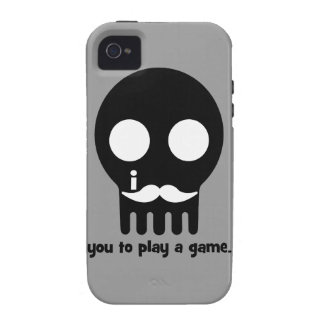 mustache gamer iPhone 4 covers