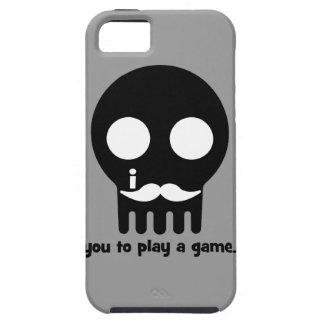 mustache gamer iPhone 5 case