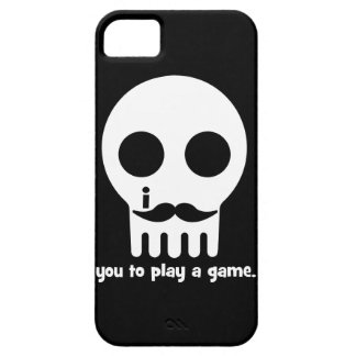 mustache gamer iPhone 5 cover