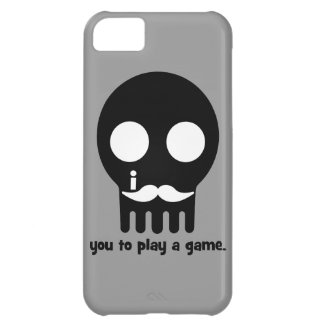 mustache gamer case for iPhone 5C