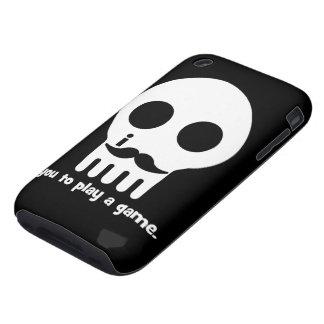mustache gamer iPhone 3 tough cases