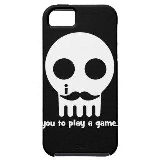 mustache gamer iPhone SE/5/5s case