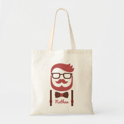 Budget Tote with Iconic Cowboy Moustache design