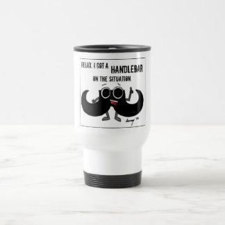 Mustache 'GOT A HANDLEBAR ON THE SITUATION' Mug