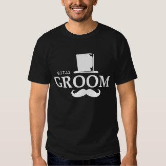 Mustache Groom DK Shirt