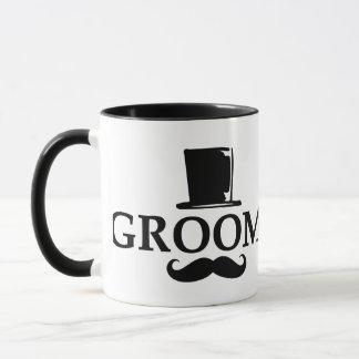 Mustache Groom Mug