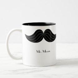Mustache Groom's Mug mug